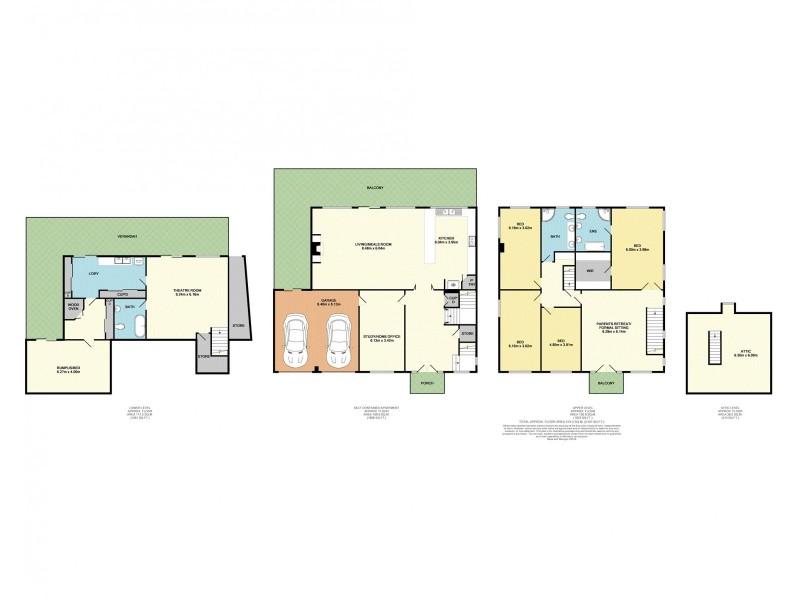 26 Highfield Drive, Aberfoyle Park SA 5159 Floorplan