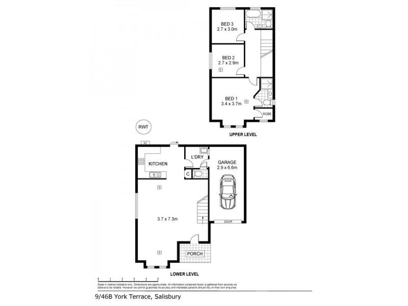 11, 46B York Terrace, Salisbury SA 5108 Floorplan