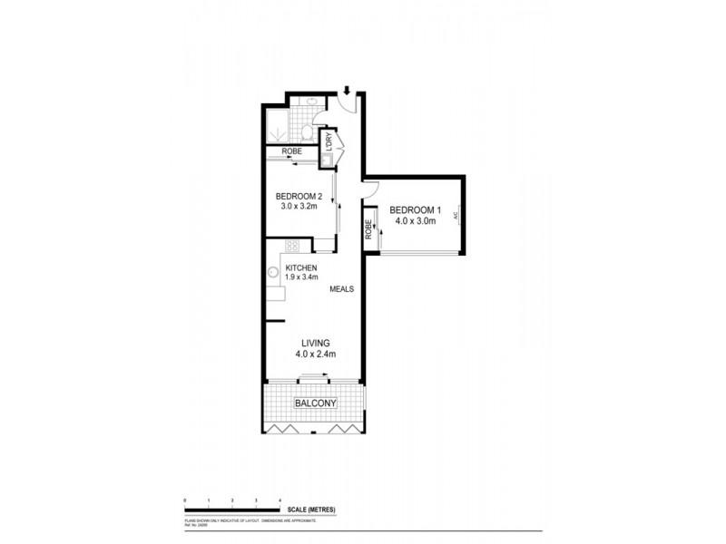 Apt 520 185 Morphett Street, Adelaide SA 5000 Floorplan