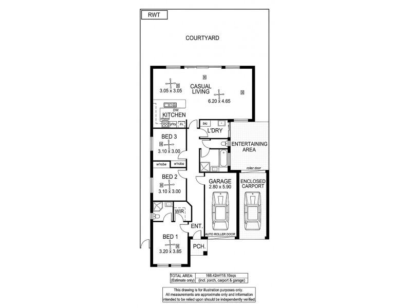28A Carlisle Street, Camden Park SA 5038 Floorplan