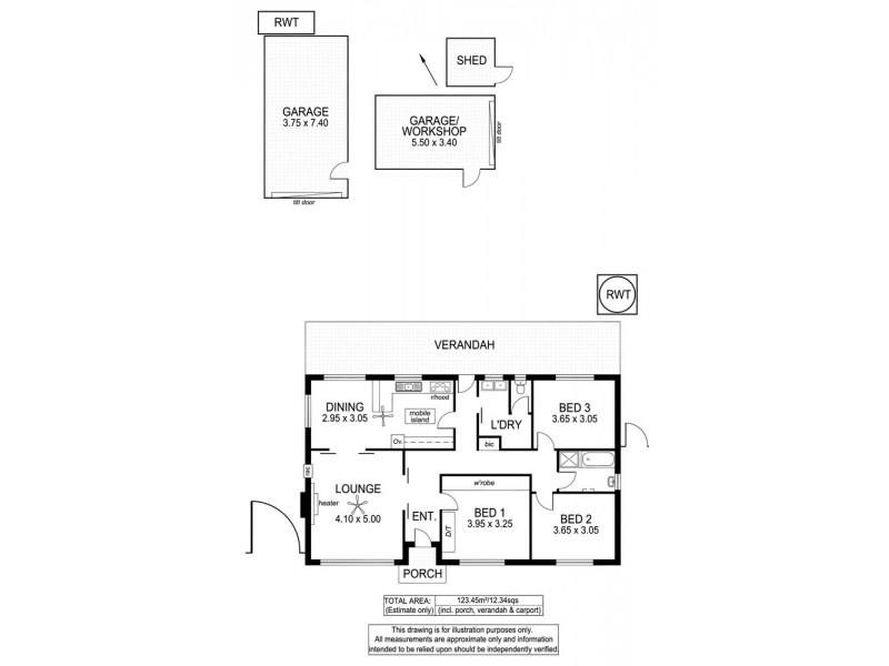 53 Clyde Avenue, Lockleys SA 5032 Floorplan