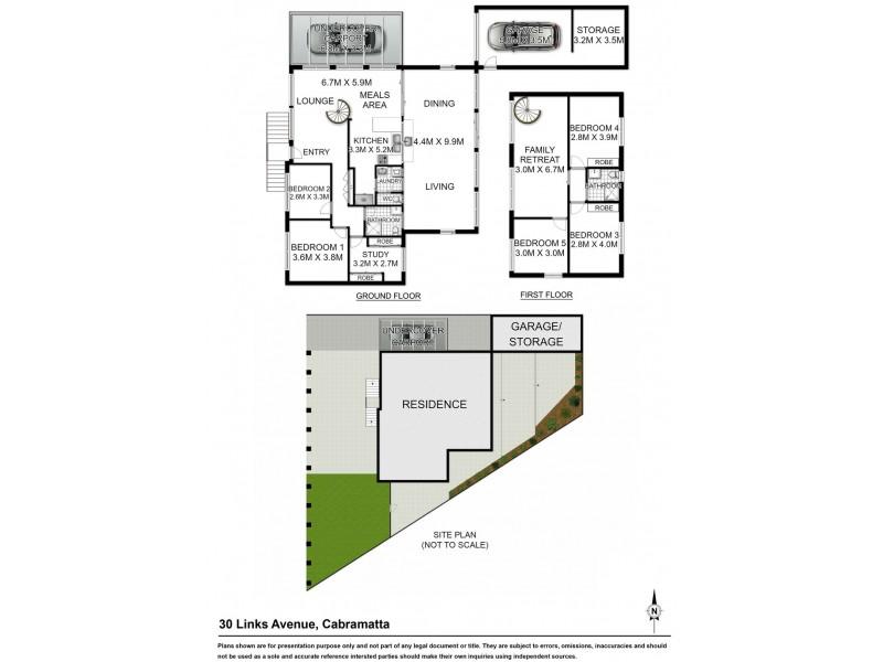 30 LINKS AVENUE, Cabramatta NSW 2166 Floorplan