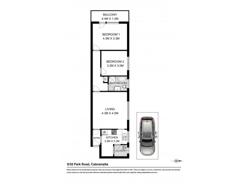 9/35 PARK ROAD, Cabramatta NSW 2166 Floorplan