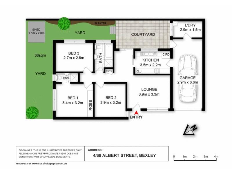4/69  Albert St, Bexley NSW 2207 Floorplan