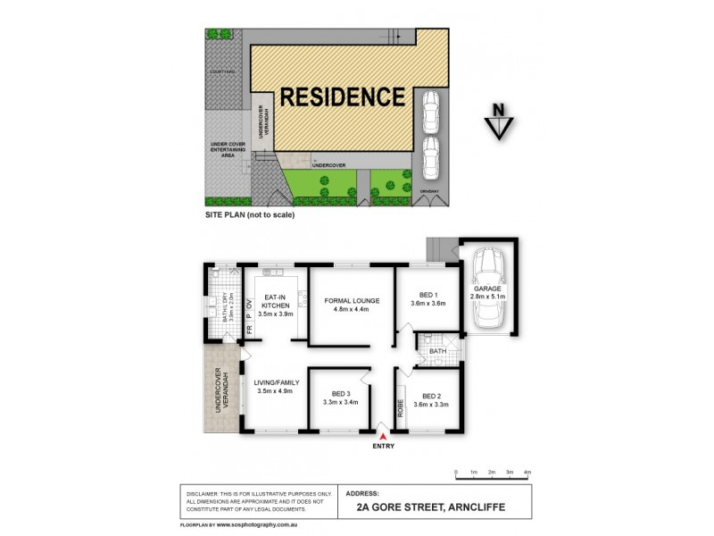 2a  Gore St, Arncliffe NSW 2205 Floorplan
