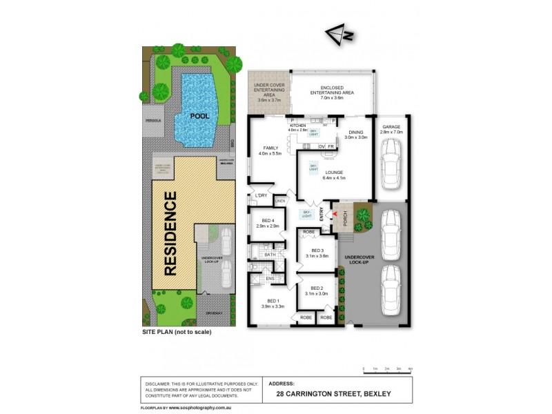 28  CARRINGTON ST, Bexley NSW 2207 Floorplan
