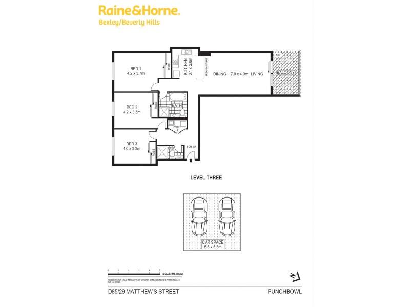 D85/20 Matthews Street, Punchbowl NSW 2196 Floorplan