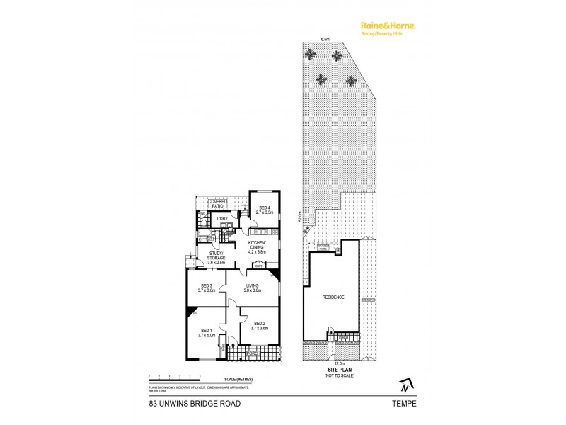 83 Unwins Bridge Road, Tempe NSW 2044 Floorplan