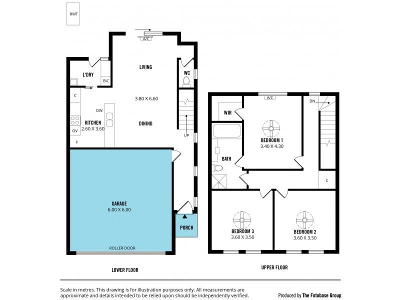 4/12 Whinnerah Avenue, Aldinga Beach SA 5173 Floorplan