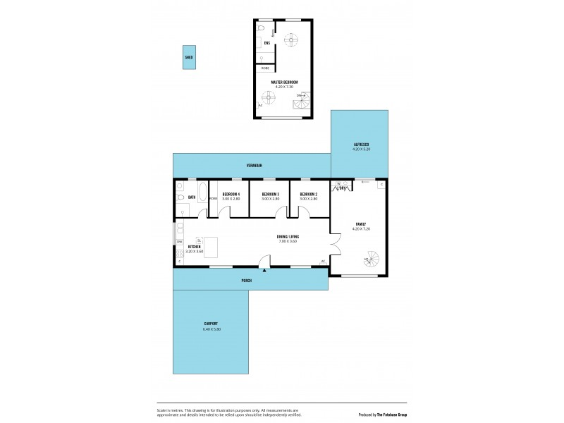6 Darwalla Road, Aldinga Beach SA 5173 Floorplan