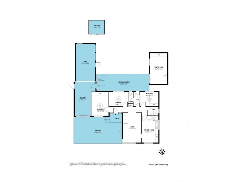 17 Durant Avenue, Morphett Vale SA 5162 Floorplan