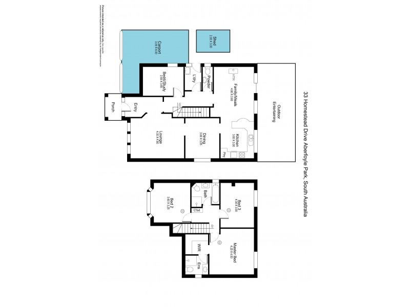 33 Homestead Drive, Aberfoyle Park SA 5159 Floorplan