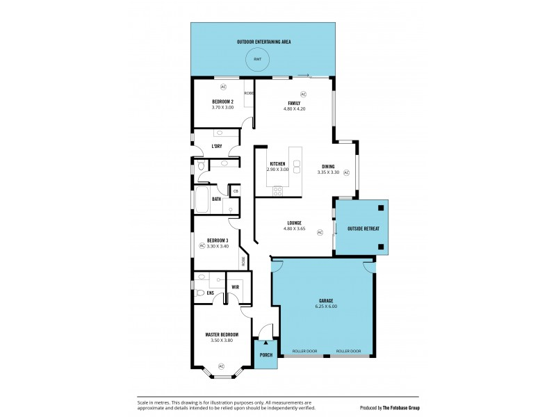 2 Teal Close, Aldinga Beach SA 5173 Floorplan
