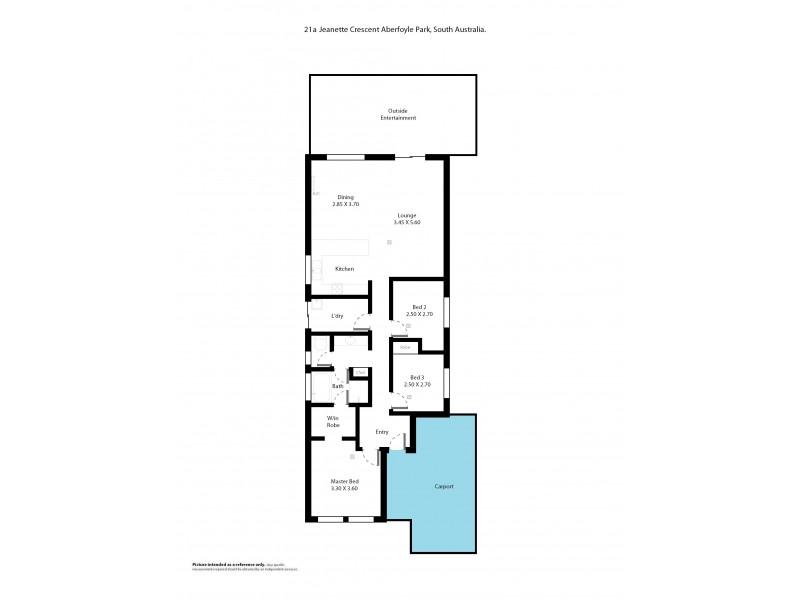 21a Jeanette Crescent, Aberfoyle Park SA 5159 Floorplan