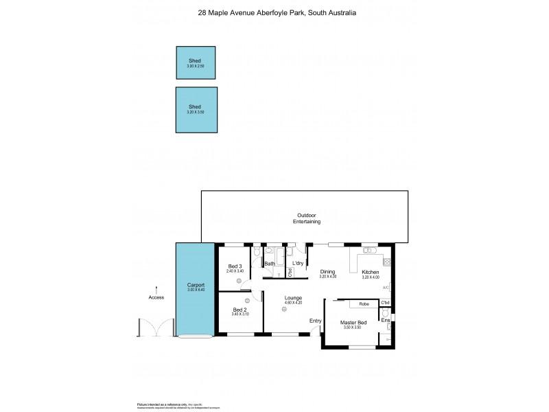28 Maple Avenue, Aberfoyle Park SA 5159 Floorplan