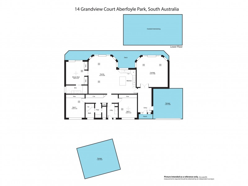 14 Grandview Court, Aberfoyle Park SA 5159 Floorplan