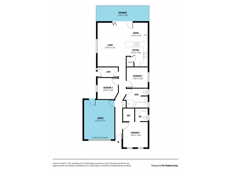 8 Jade Loop, Aldinga Beach SA 5173 Floorplan