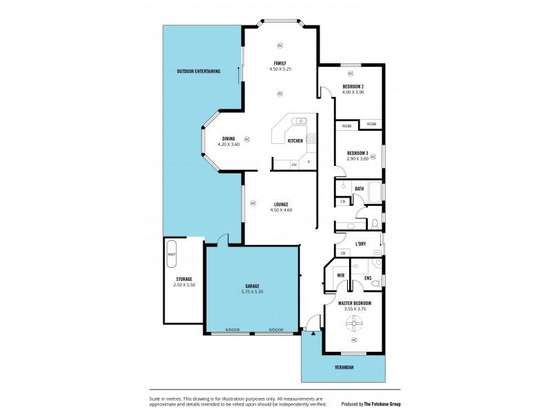 20 Basin Street, Aldinga Beach SA 5173 Floorplan