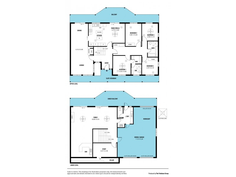 7 Ridge Place, Aberfoyle Park SA 5159 Floorplan