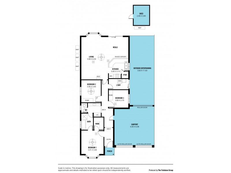 45 Talladira Way, Woodcroft SA 5162 Floorplan
