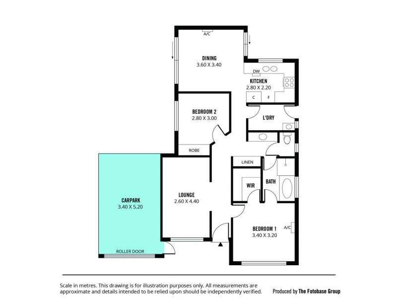 34 Haseldene Drive, Christie Downs SA 5164 Floorplan