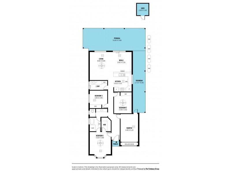 33 Brooklyn Drive, Hallett Cove SA 5158 Floorplan