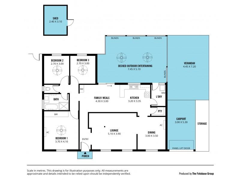 7 Apollo Drive, Hallett Cove SA 5158 Floorplan