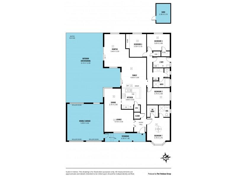 4 Jordan Court, Aberfoyle Park SA 5159 Floorplan