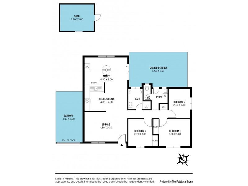 15 Leane Street, Huntfield Heights SA 5163 Floorplan