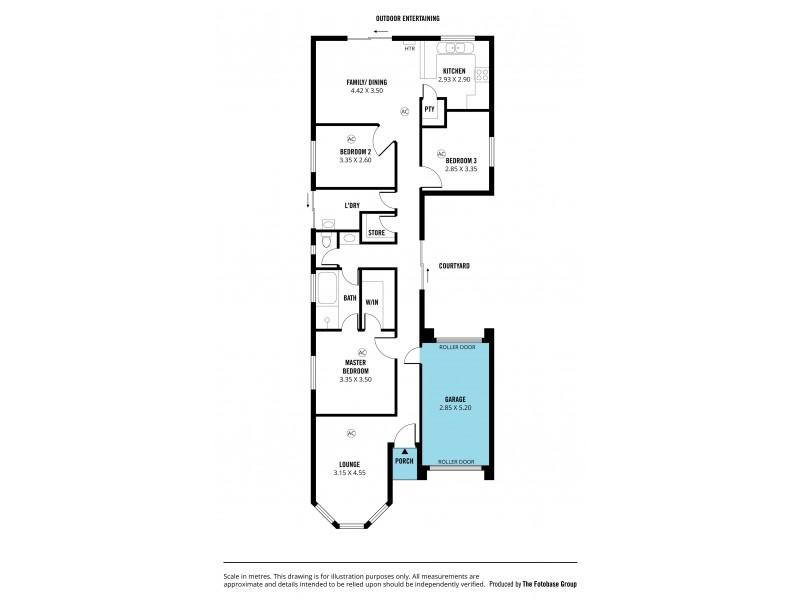 14 Gem Street, Aberfoyle Park SA 5159 Floorplan