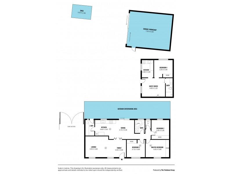 16 Lyn Street, Aberfoyle Park SA 5159 Floorplan