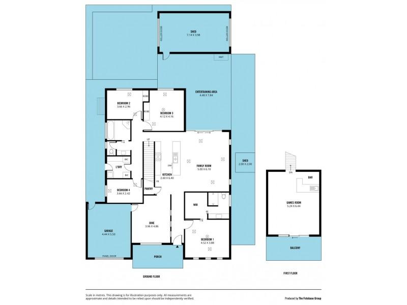57 Nicholl Avenue, Aldinga Beach SA 5173 Floorplan