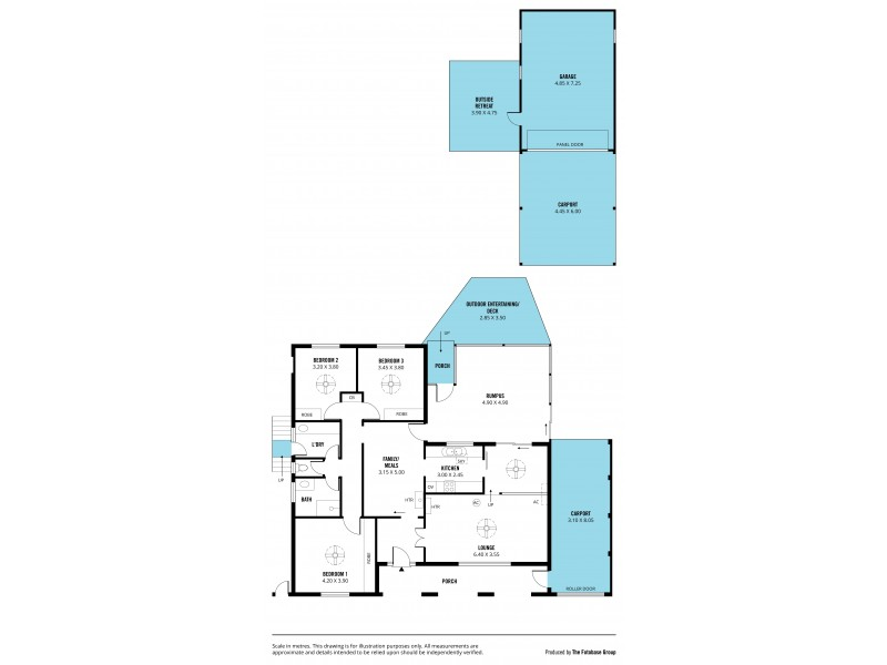 55 Ashton Rise, Huntfield Heights SA 5163 Floorplan