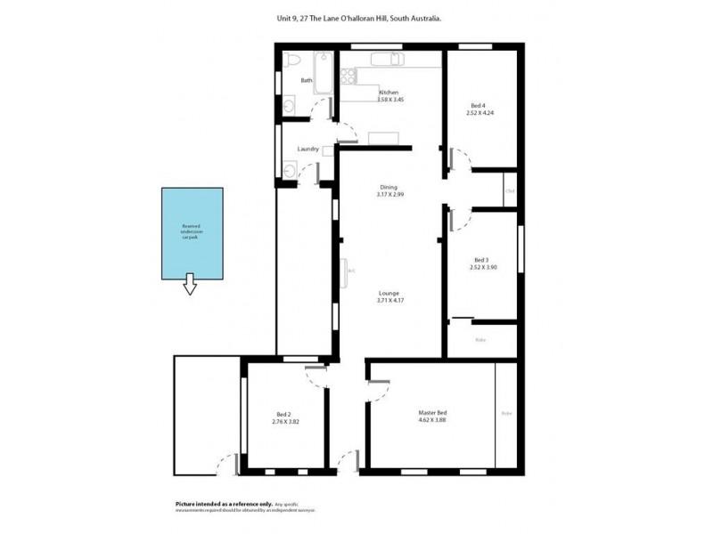 9-27 The Lane, O'halloran Hill SA 5158 Floorplan