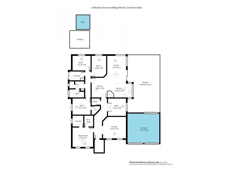 24 Banksia Avenue, Aldinga Beach SA 5173 Floorplan