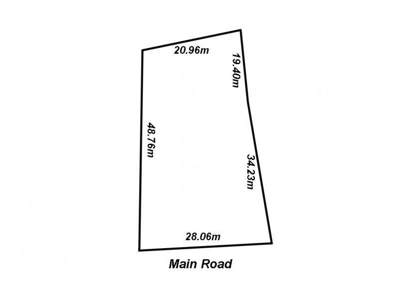 496A Main Road, Coromandel Valley SA 5051 Floorplan