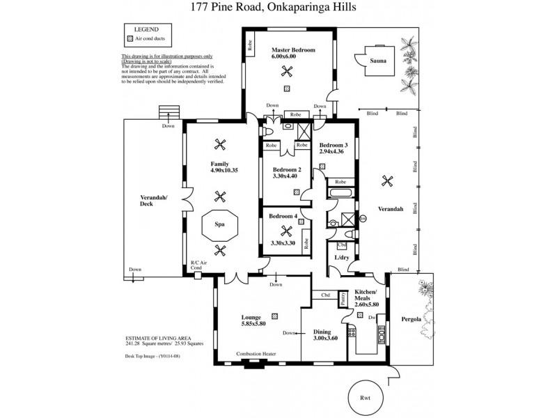 177 Pine Road, Onkaparinga Hills SA 5163 Floorplan
