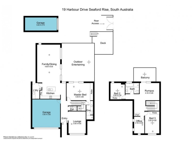 19 Harbour Drive, Seaford Rise SA 5169 Floorplan