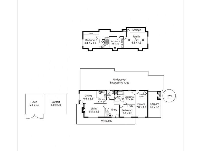 66 Truscott Road, Mclaren Vale SA 5171 Floorplan