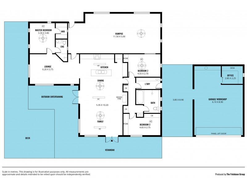 19 Bishop Road, Willunga Hill SA 5172 Floorplan
