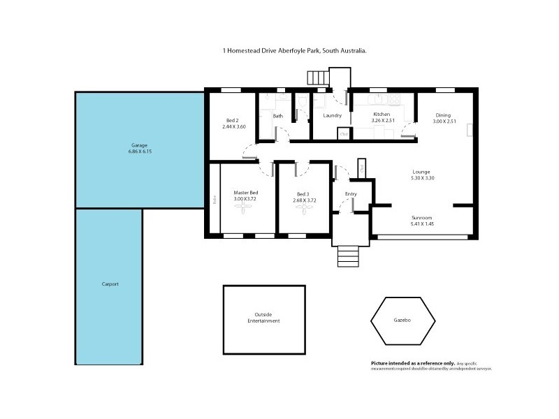 1 Homestead Drive, Aberfoyle Park SA 5159 Floorplan