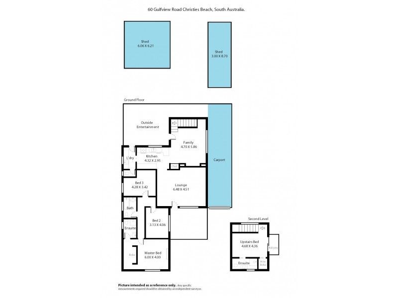 60 Gulfview Road, Christies Beach SA 5165 Floorplan