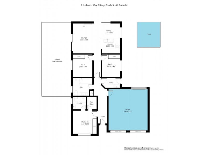 8 Seahaven Way, Aldinga Beach SA 5173 Floorplan
