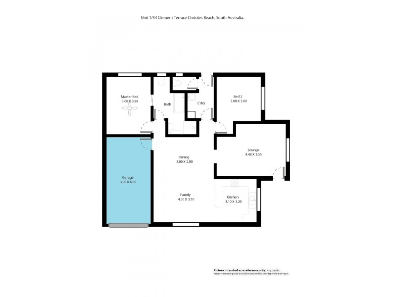 1-34 Clement Terrace, Christies Beach SA 5165 Floorplan