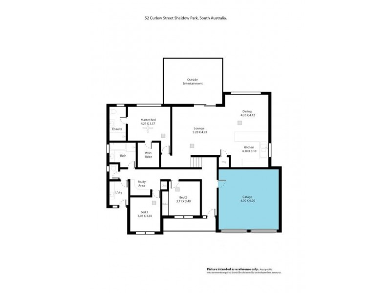 52 CURLEW STREET, Sheidow Park SA 5158 Floorplan