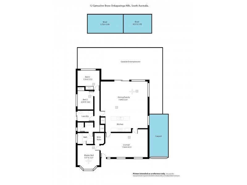 12 Gateacre Brow, Onkaparinga Hills SA 5163 Floorplan