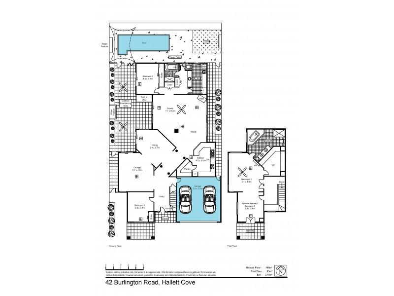 42 Burlington Road, Hallett Cove SA 5158 Floorplan