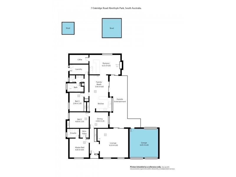 7 Oakridge Road, Aberfoyle Park SA 5159 Floorplan