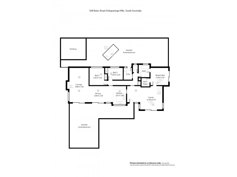Lot 508 Bains Road, Onkaparinga Hills SA 5163 Floorplan