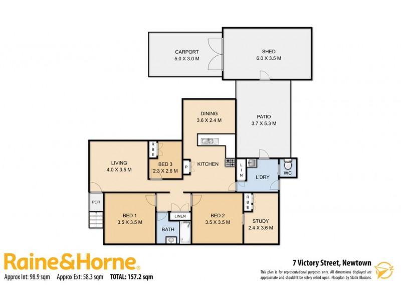 7 Victory Street, Newtown QLD 4350 Floorplan